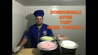 Dondurmalı Atom Tost Nasıl Yapılır ? (Youtube Özel 2 Kilo)