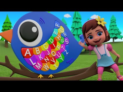 ABC Alphabets Song for Children | Baby Girl Fun Learning Alphabets | Kids Learning Education Videos
