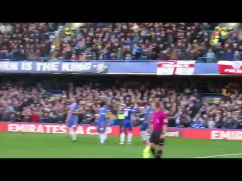 Chelsea FC - West Bromwich Albion FC (Diego Costa Goal)