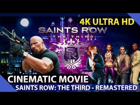 Saints Row: The Third - Cinematic Movie As Dwayne Johnson (4K)