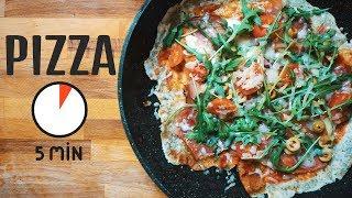 PIZZA Z PATELNI w 5 min ?! *przepis* | VLOG 07