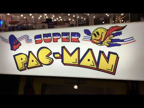 Arcade1Up Super Pac Man Review Costco Arcade 1Up from rarecoolitems