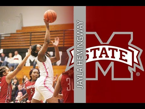 Houston's Jayla Hemingway Signs With Mississippi State Lady Bulldogs
