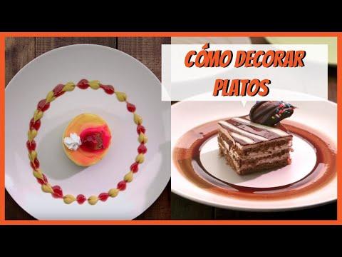 C mo decorar platos para servir trucos de cocina vix - Decoracion de platos ...