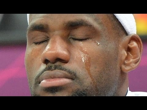 LeBron James Cries During Emotional
