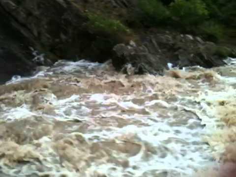 Pound Bend tunnel - flood