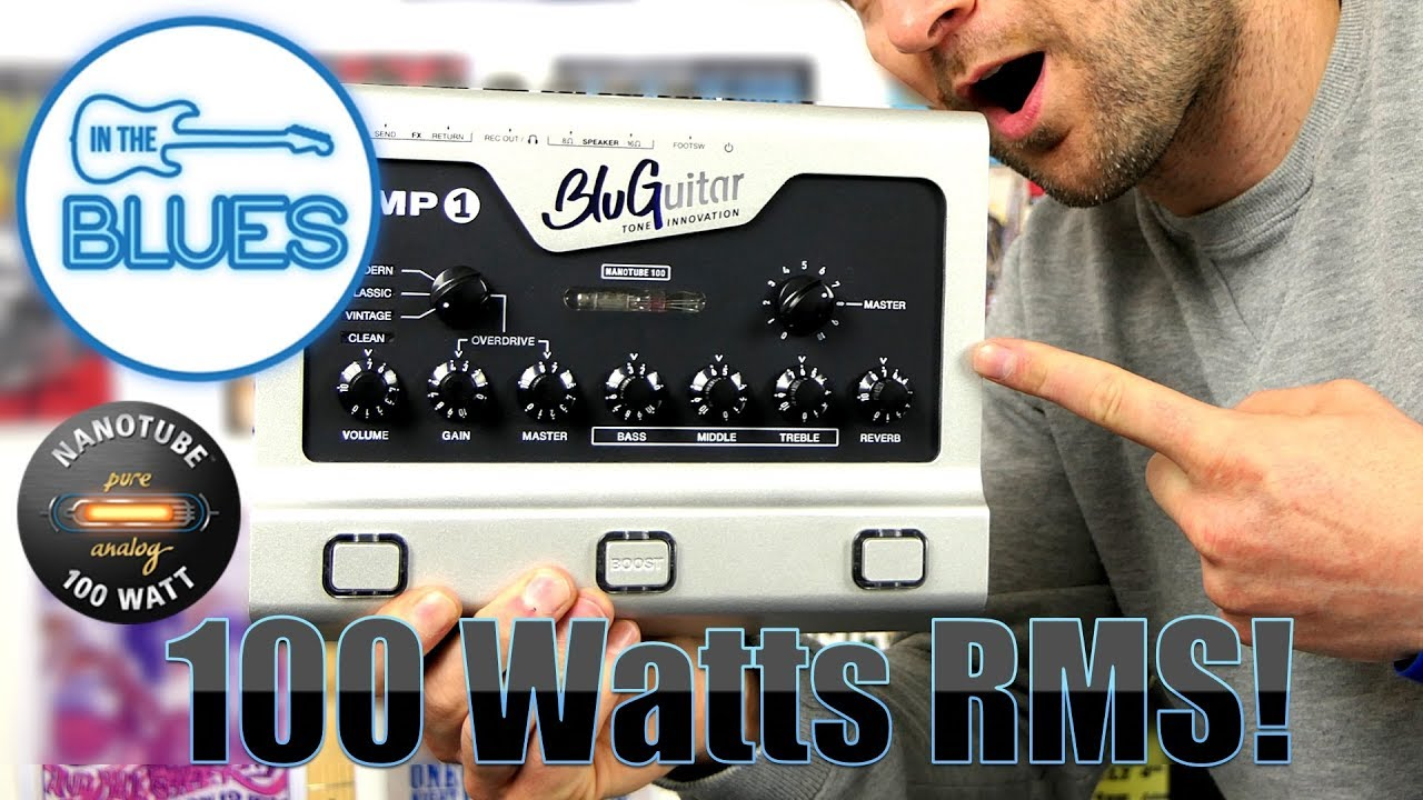 Bluguitar Amp1 Review : bluguitar amp1 a compact 100 watt rms amplifier review youtube ~ Russianpoet.info Haus und Dekorationen