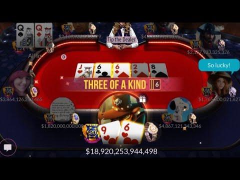 Make 18t With 96 8 S Kenz Zynga Poker Youtube