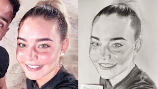 Bakarak Portre Taslağı Nasıl Çizilir?  Kendi Yöntemlerim ve Püf Noktalar