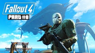 Fallout 4 Gameplay Walkthrough, Part 8 - LEGENDARY WEAPONS & LEVELING UP!!! (Fallout 4 PC Gameplay)