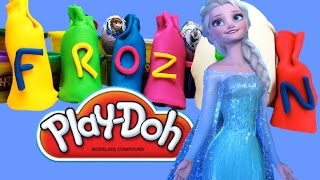 Play Doh Frozen Surprise eggs Плей до Холодное сердце киндер сюрпризы Анна Эльза