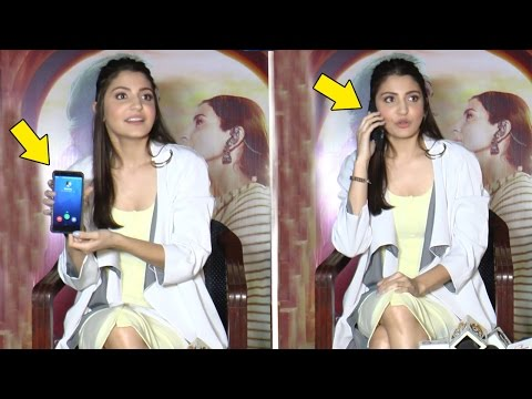 Reporter's Phone Rings During Anushka's Phillauri Interview - What Happens Next Will Blow Ur Mind