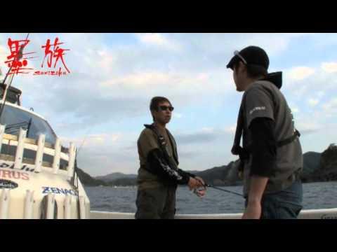 墨族 兵庫県竹野沖でのボートエギング (前半)