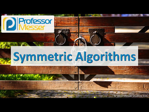 Symmetric Algorithms - CompTIA Security+ SY0-501 - 6.2
