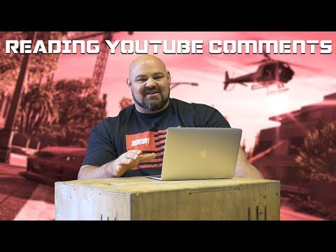 I'M IN THE NEW GRAND THEFT AUTO?!?!   READING YOUTUBE COMMENTS   BRIAN SHAW