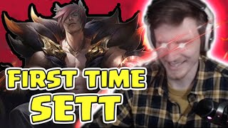 HASHINSHIN: FIRST TIME SETT IN RANKED - 2 GAMES