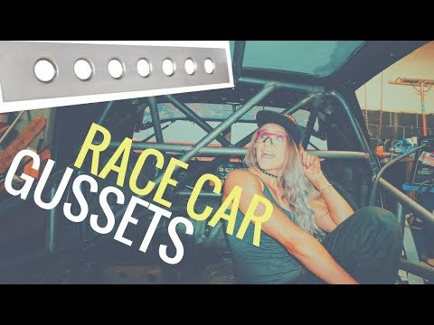HOW TO MAKE INSANE RACECAR GUSSETS | DIY Prt 1 | Project Drift – EP. 14
