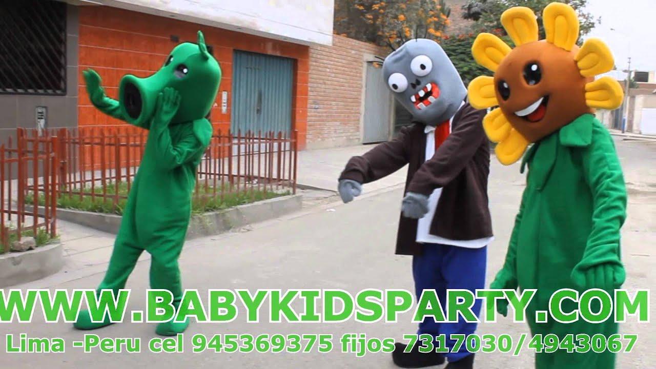 Show Infantil De Plantas Vs Zombies