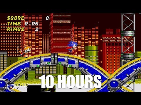 Sonic 2 - Chemical Plant Zone Extended (10 Hours)
