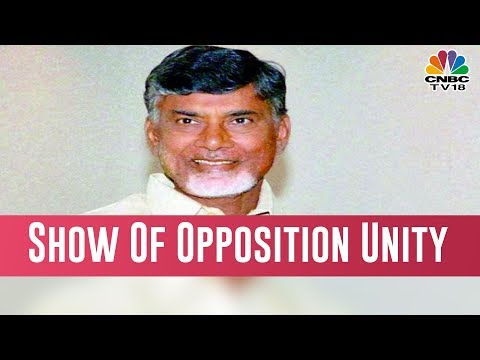 Andhra Pradesh  CM Chandrababu Naidu On Hunger Strike, Opposition Leaders Join In Support