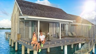 Maldives. Villa on Water. Lost an iPhone in the Jungles