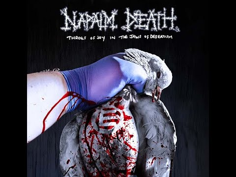 """Napalm Death new album """"Throes Of Joy In The Jaws Of Defeatism"""" - Tracklist/art unveiled!"""