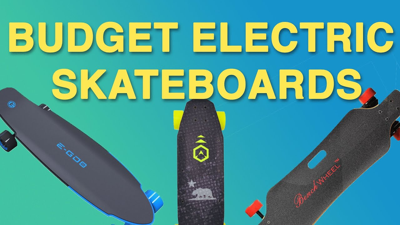Best Cheap Electric Skateboards July 2016  YouTube