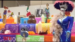 México instala altar de muertos en la sede de la ONU en Ginebra