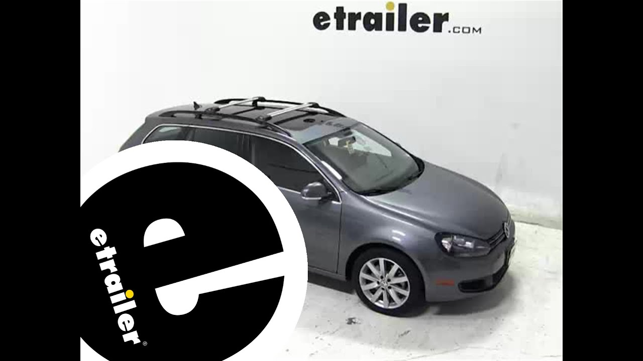 Installation Of The Thule Aeroblade Edge Roof Rack On A