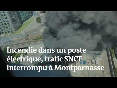 Un incendie près de Paris bloque la gare Montparnasse