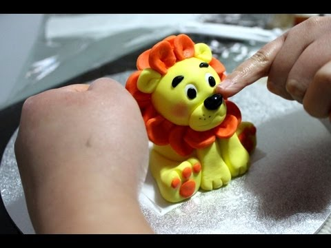 How To Make A Lion Topper Part 1 Youtube
