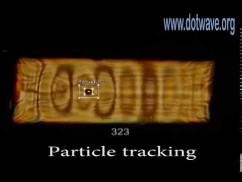 Particle in a box - DotWave Self-Interference tracking and statistics