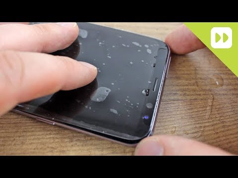 zagg-invisibleshield-samsung-galaxy-s8-/-s8-plus-wet-screen-protector-installation-guide-&-review