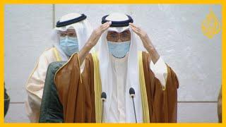 شاهد - الشيخ نواف الأحمد الجابر الصباح يؤدي اليمين الدستورية أميرا لدولة الكويت