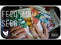 FEED AND SEED | Our 2018 Garden Seed Haul