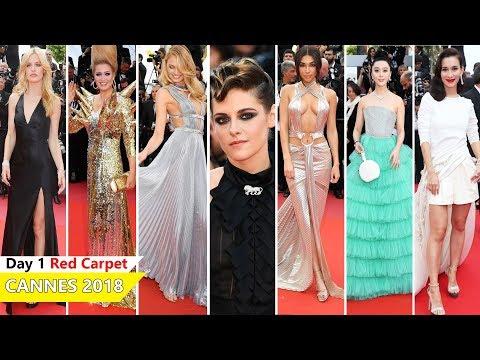 Cannes Film Festival 2018 [DAY 1] Red Carpet   Full Video   Celebrity Dresses