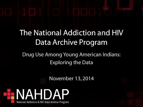 Drug Abuse among Young American Indians: Exploring the Data