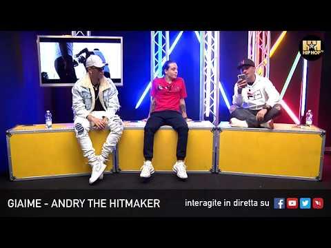 GIAIME E ANDRY THE HITMAKER PT1 🎯 LIVE SU HIP HOP TV 👊🏻📲