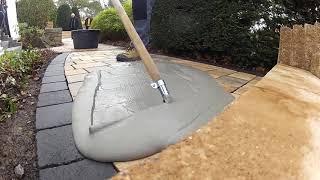 Технология затирки швов клинкерной брусчатки и натурального камня