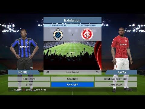 Club Brugge KV vs SC Internacional, Jan Breydel Stadion, PES 2016, PRO EVOLUTION SOCCER 2016