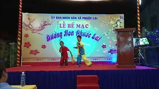 Diễn bế mạc đường hoa xã Phước Lại - Long Hậu - Long An - 20200123
