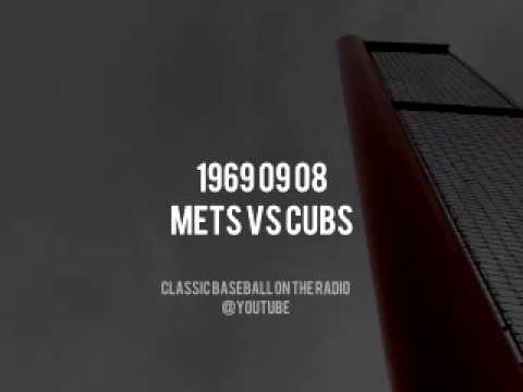 1969 09 08 New York Mets vs Chicago Cubs Complete Radio Broadcast