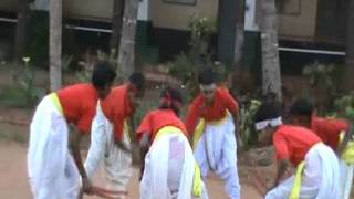 Kolata pada by primary school students of Bachigondana Halli