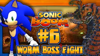 Sonic Boom Rise of Lyric Wii U (1080p) - Part 6 Worm Boss Fight