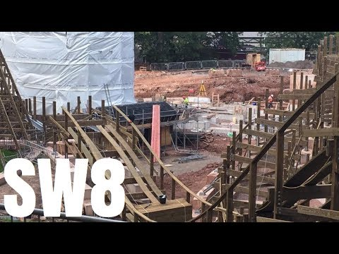 Alton Towers SW8 Construction Update - 1st September 2017