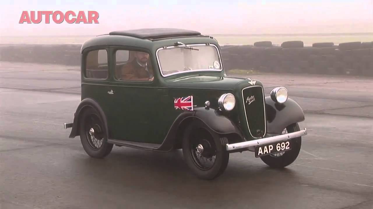 Austin 7 video review by autocar.co.uk - YouTube