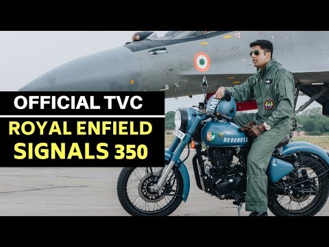 Royal Enfield Classic Signals 350 ABS / Pegasus 350 official video