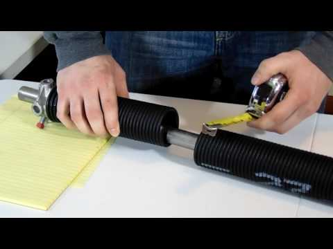 How to Professionally Measure a Replacement Garage Door Spring