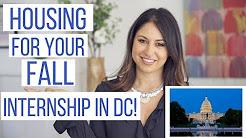 Housing for Your Internship in DC! | The Intern Queen