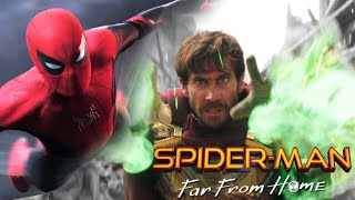 Spider-Man Far From Home: Mysterio Master of Illusion Creating the Elementals?